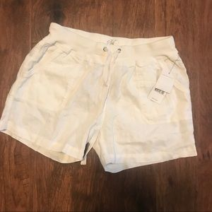 Calvin Klein women's white shorts